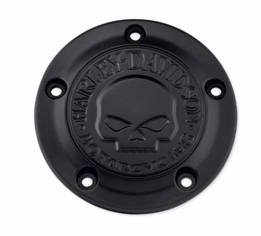 Harley-Davidson Timer Cover Willie G Skull black  - 25600087