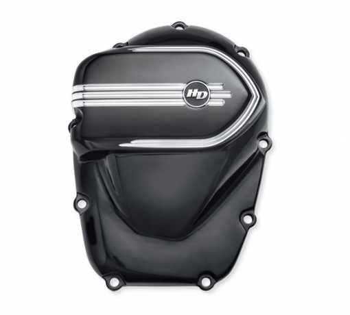 Harley-Davidson Defiance Cam Cover black cut  - 25700602