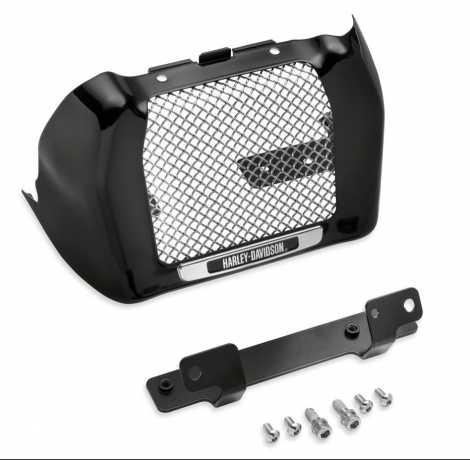 Harley-Davidson Oil Cooler Cover Kit, gloss black  - 25700634