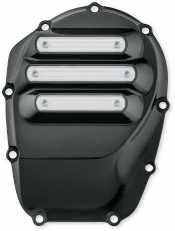 Harley-Davidson Dominion Cam Cover - Gloss Black with Hilighted Slots  - 25700722