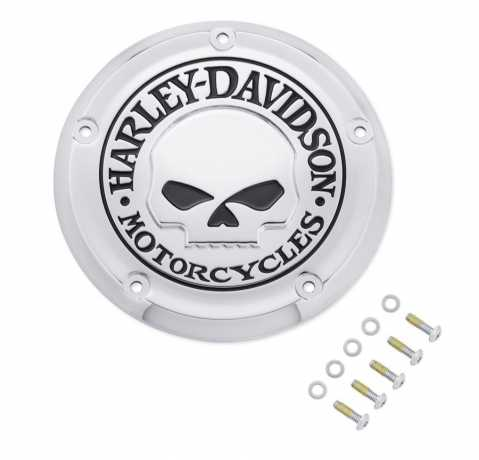 Harley-Davidson Willie G Skull Derby Deckel  - 25700958