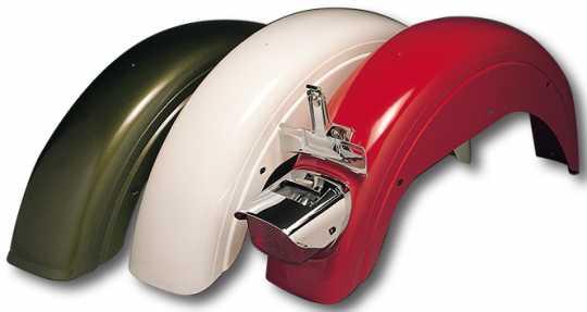 Custom Chrome FX Rear Fender with Light Mount  - 25-931
