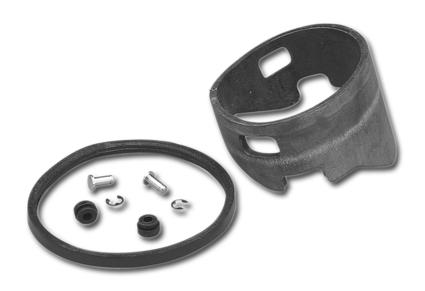 Motor Factory Gummidämpfer für Fat Bob Tachometer  - 25-959