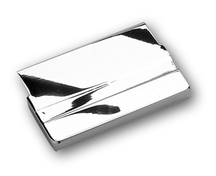 Custom Chrome Battery Top Cover chrome  - 26-085