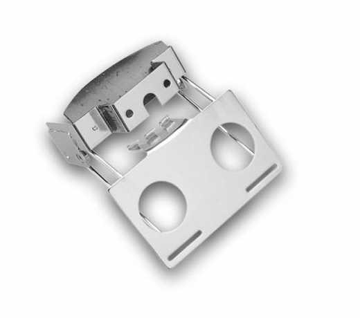 Custom Chrome Rücklichthalter für Fat Bob Schutzblech  - 26-494