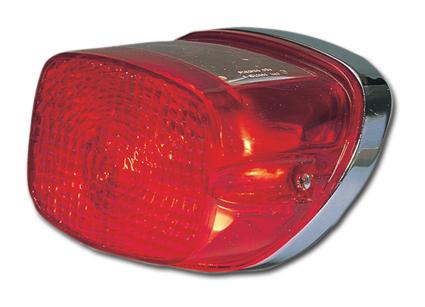 Custom Chrome Late Style Taillight, 12 Volt  - 26-100