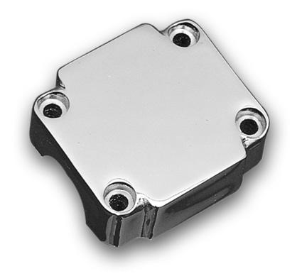 Custom Chrome Schaltergehäuse ohne Ausfräsungen chrom  - 26-113