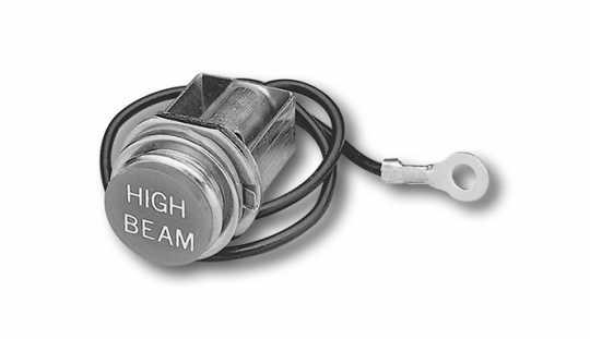Custom Chrome Highbeam Assy Lowrider  - 26-444