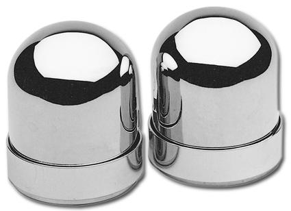 Custom Chrome Stoßdämpferaugen Zierblenden  - 26-490