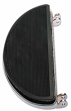 Custom Chrome Oval Shaker Floorboards  - 26-567