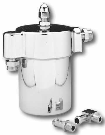 Custom Chrome Spin-On Oil Filter Kit  - 26-650