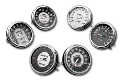 Motor Factory Motor Factory Speedo Antiq FL 46-47 1:1  - 25-975