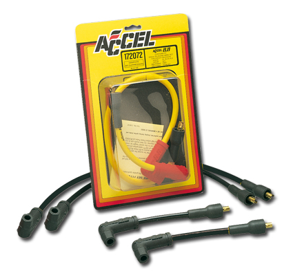 Accel Accel 8.8mm Custom Wire Set Black, Suspression Core  - 26-884