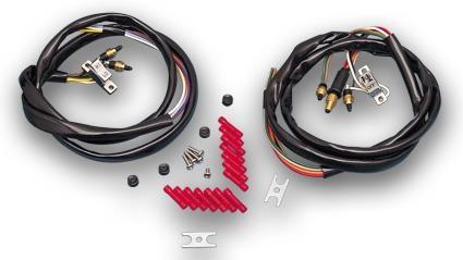 Daytona Japan Chrome L&R Handlebar Wire Harnes  - 27-272