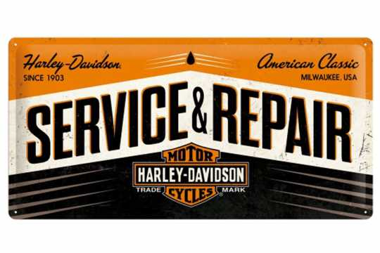H-D Motorclothes Harley-Davidson Metal Shield Service & Repair  - 27002