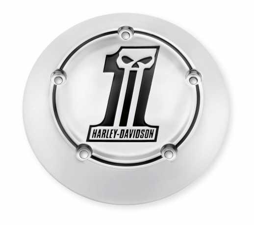 Harley-Davidson Luftfilter-Zierblende Number One Skull  - 27956-10