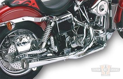 SuperTrapp SuperTrapp Megaphone 2in1 exhaust chrome  - 28-0460