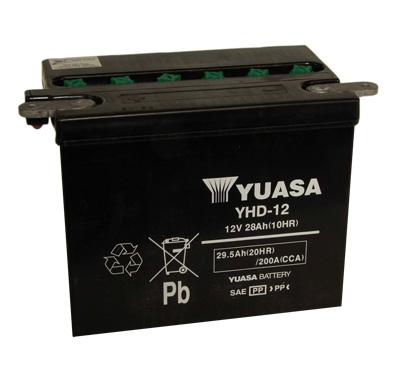 Yuasa Yuasa YHD-12 Batterie  - 28-31443