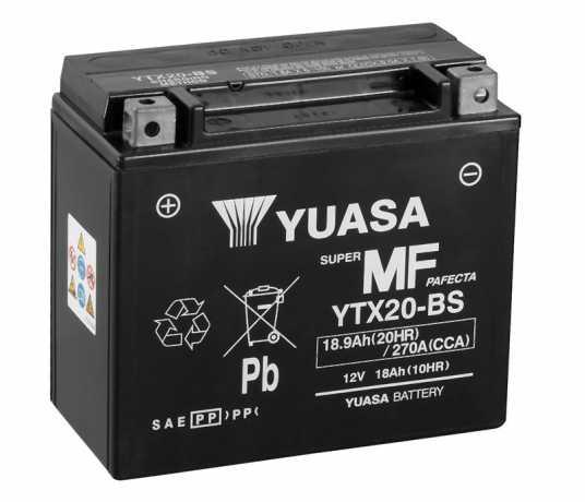 Yuasa Yuasa Batteríe YTX20-BS  - 28-31565