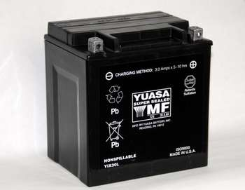 Yuasa Yuasa YIX30L Batterie  - 28-31647