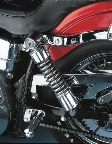 "Custom Chrome Custom Chrome Shocks 12"" without cover, chrome  - 28-100"
