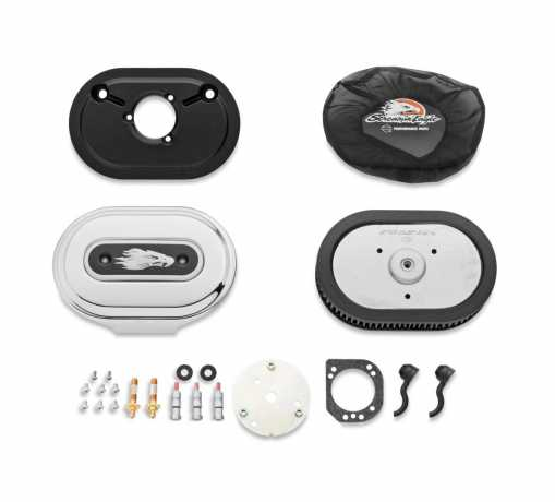 Screamin' Eagle Ventilator Performance Air Cleaner Kit chrome
