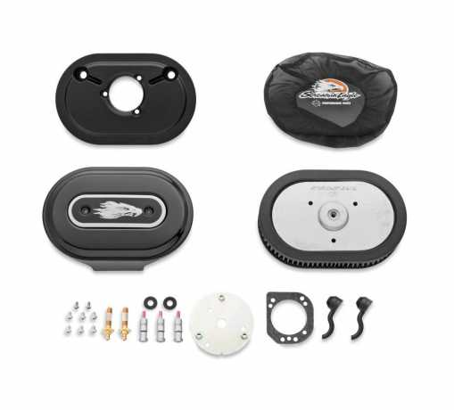 Harley-Davidson Screamin' Eagle Ventilator Performance Air Cleaner Kit Gloss Black  - 28722-10