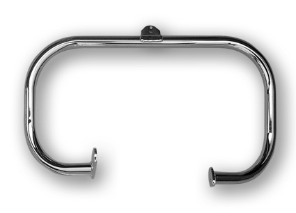 "Jardine Highway Bar 1.25"" front, chrome"