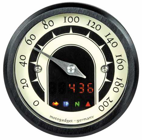 Motogadget Motogadget Speedster 49mm Mini-Tacho  - 29-99-510