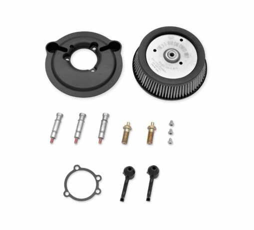 Harley-Davidson Screamin' Eagle Stage I Air Cleaner Kit Round, gloss black  - 29000009A
