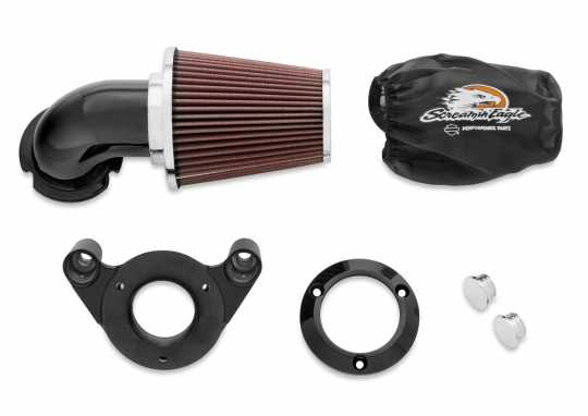 Harley-Davidson Screamin' Eagle Heavy Breather Performance Air Cleaner Kit Gloss Black  - 29098-09A