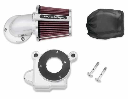 Harley-Davidson Screamin' Eagle Heavy Breather Elite Performance Air Cleaner Kit chrome  - 29400173
