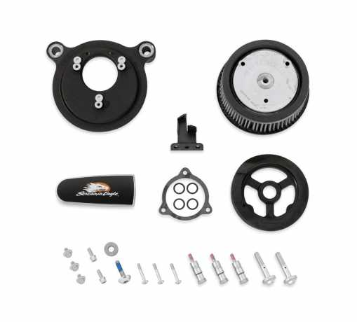 Harley-Davidson Screamin' Eagle Stage I Air Cleaner Kit texture black  - 29400233
