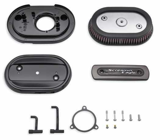 Harley-Davidson Screamin Eagle Ventilator Air Cleaner Kit, black  - 29400298