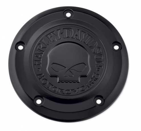Harley-Davidson Luftfilter-Zierblende Willie G Skull schwarz  - 29400343