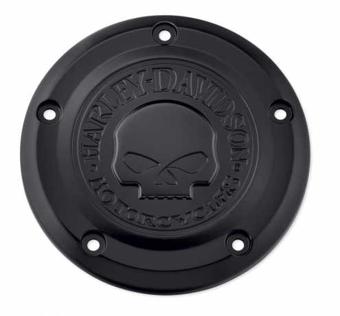 Harley-Davidson Willie G Skull Air Cleaner Trim black  - 29400343