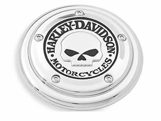 Harley-Davidson Air Cleaner Trim Willie G Skull  - 29417-04