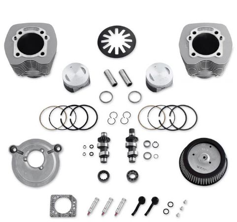 Harley-Davidson Screamin Eagle Pro Stage II Kit 95 ci, silver  - 29859-04B