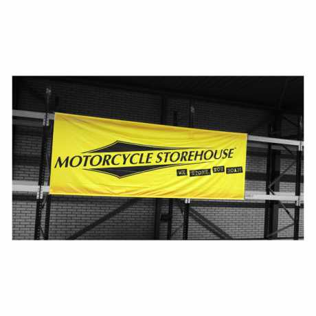 Motorcycle Storehouse Motorcycle Storehouse Logo Event Banner 400 x 150 cm  - 300007
