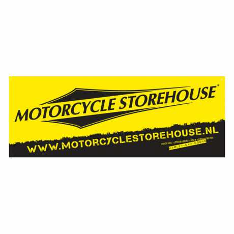 Motorcycle Storehouse Motorcycle Storehouse Logo Banner 121 x 45 cm  - 300016
