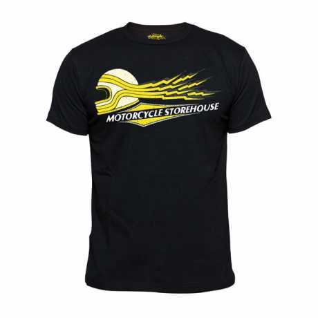 Motorcycle Storehouse Motorcycle Storehouse Lightning T-Shirt schwarz  - 300105V