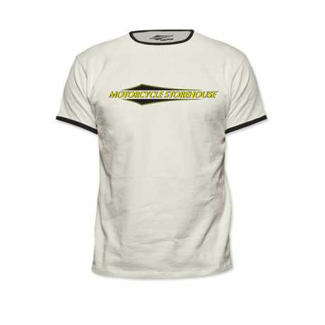 Motorcycle Storehouse Motorcycle Storehouse Vintage T-Shirt weiß  - 300125V