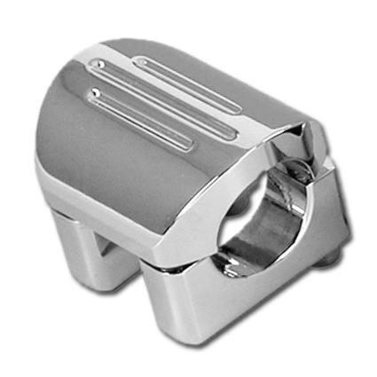 """Dakota Digital Dakota Digital Lenkerhalter 1"""" /  56mm wide, chrom  - 31-0646"""