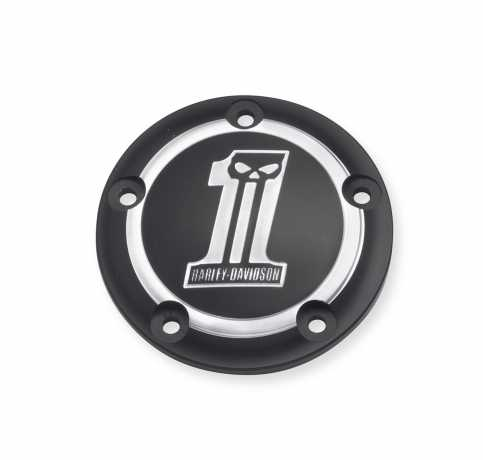 Harley-Davidson Timer Cover Dark Custom One  - 32414-09