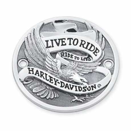 Harley-Davidson Timer Deckel Live To Ride chrom  - 32581-85T