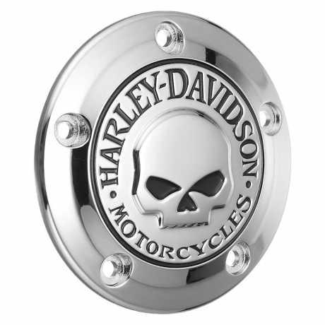 Harley-Davidson Timer Deckel Willie G Skull  - 32975-04A