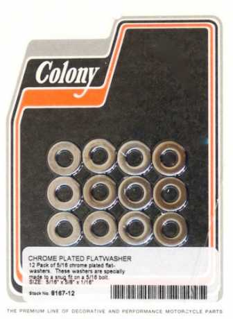 "Colony Colony 5/16"" Flatwashers (12)  - 36-102"