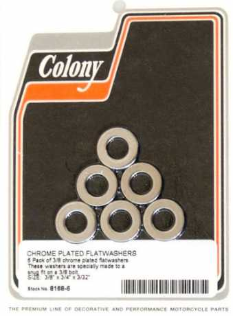 "Colony Colony 3/8"" Flatwashers (6)  - 36-103"
