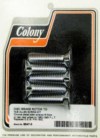 "Colony Colony Front or rear rotor to hub Kit 7/16""-14 x 1.75""  - 36-233"