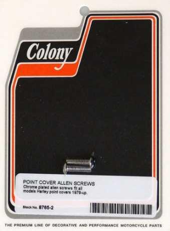 Colony Colony Screws Point Cover, chrome  - 36-259